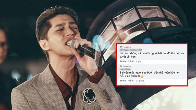 Noo Phước Thịnh 'khiến fan buồn'vì bị giọng bè lấn át, đồng loạt kêu gọi 'nên hát một mình'