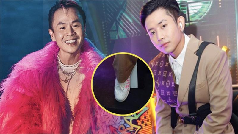 Thật bất ngờ: Là thí sinh duy nhất được Binz âm thầm tặng giày, Ricky Star chỉ dám mang đi diễn đêm Chung kết