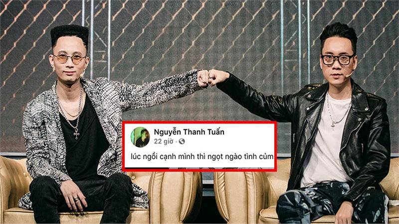 Trong khi Rhymastic và Torai9 đang 'rap chiến', Justatee lại có phản ứng 'hờn dỗi' cực lạ
