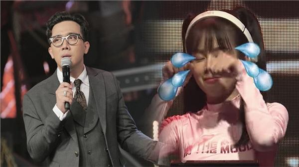 Dù chỉ nói một câu, Trấn Thành đã khiến DJ Mie mếu máo trong chung kết Rap Việt