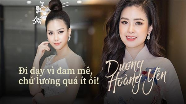 Dương Hoàng Yến: Đi dạy vì đam mê, dù có hủy show cũng không thể bỏ học trò!