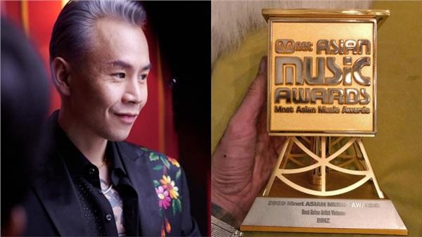 Binz khoe thắng giải thưởng lớn ở MAMA 2020, nhưng phải xoá vội vì… chương trình chưa diễn ra