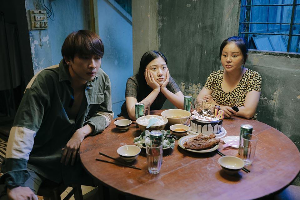 Một số cảnh trong web drama Bố già.