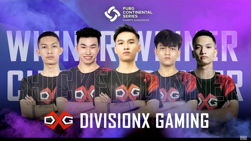 PCS APAC Charity Showdown: DivisionX Gaming lên ngôi xứng đáng, đem về 100.000 USD từ thiện phòng chống Covid-19 cho Việt Nam