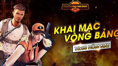 16h hôm nay, giải đấu Mocha Free Fire Fight chính thức khai mạc
