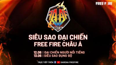 Siêu Sao Đại Chiến Free Fire Châu Á (FFAA) 2020 khởi tranh từ 12/06