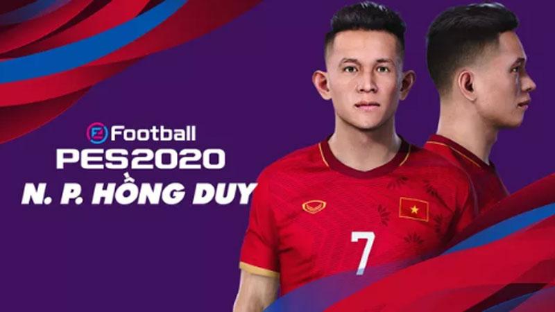 Game thủ Việt tâm huyết, mang đội tuyển Việt Nam lên PES 20, đẹp xuất sắc và giống 'y xì đúc' ngoài đời