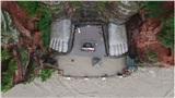 Cận cảnh chân tượng Phật lớn nhất thế giới chìm trong nước lũ, 34 triệu người dân điêu đứng vì thiên tai