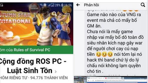 Tố GM của VNG ăn 'bẩn' sự kiện, lạm dụng quyền lực chặn khỏi group nhưng game thủ lại bị CĐM gạch đá ngược trở lại