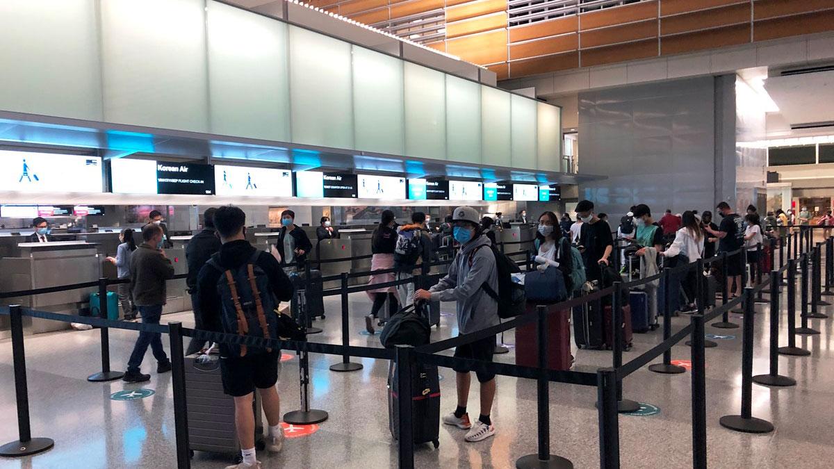 Dịch COVID-19: Gần 350 công dân Việt Nam từ Mỹ về nước an toàn