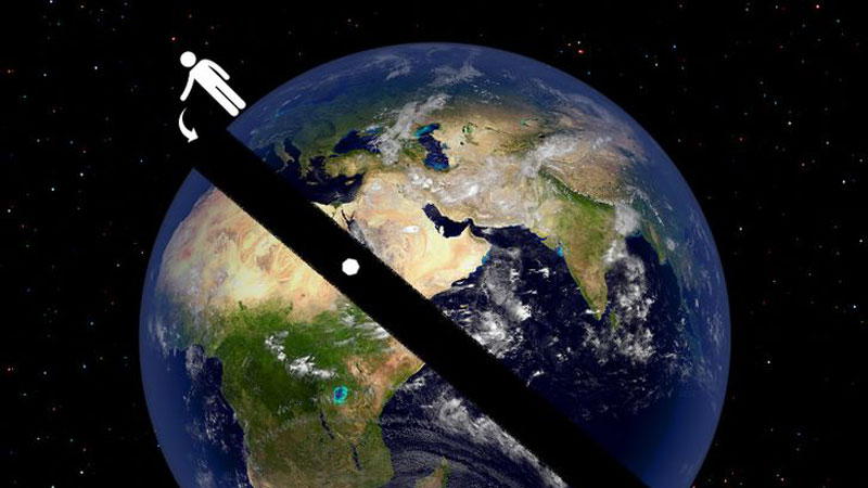 12 điều thú vị có lẽ bạn chưa bao giờ nghe tới: Rơi xuyên Trái Đất mất bao lâu?