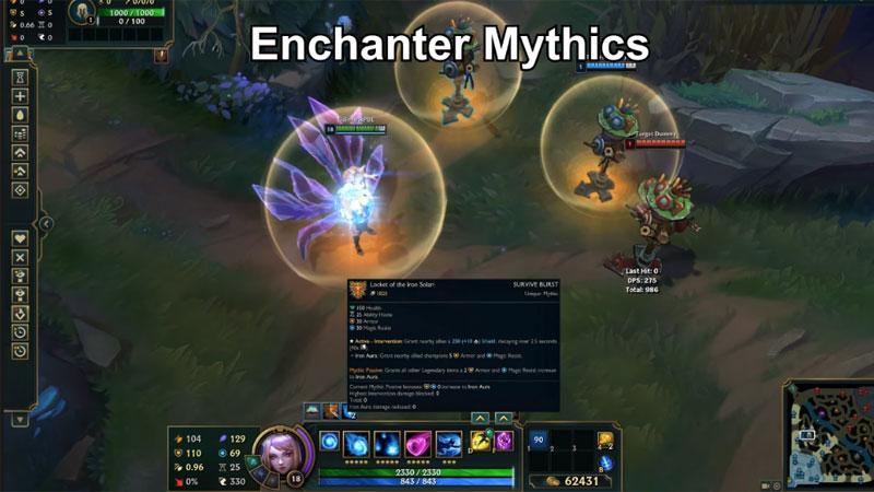 Cận cảnh toàn bộ 22 trang bị Mythic mới của LMHT - Dạ Kiếm Draktharr giờ cung cấp cả tàng hình
