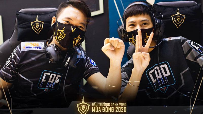 Kết quả ĐTDV mùa Đông 2020 ngày 4/10: FAP Esports đòi lại vị trí top 2 từ tay Team Flash, V Gaming và cuộc đua tới playoffs