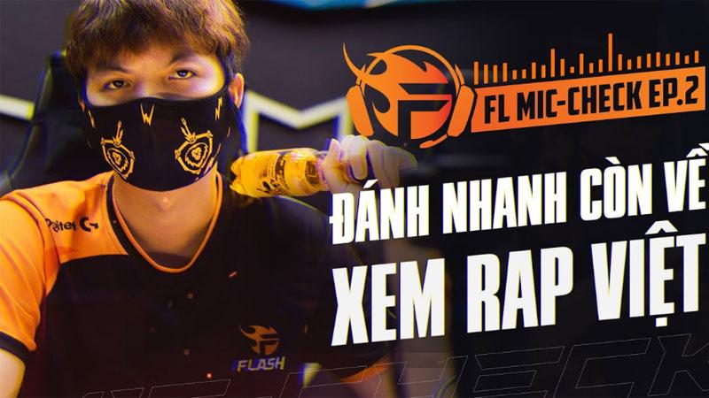 Team Flash toàn fan cứng Rap Việt, chỉ mỗi ADC ngu ngơ đúng chuẩn 'chiếu mới'