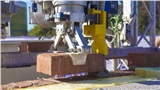 Ngôi nhà đầu tiên trên thế giới do robot xây dựnghoàn toàn