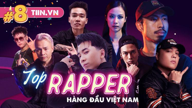 8 rapper nổi tiếng hàng đầu Việt Nam: Binz được 'gọi tên' nhiều nhất, Suboi cũng chẳng hề kém cạnh