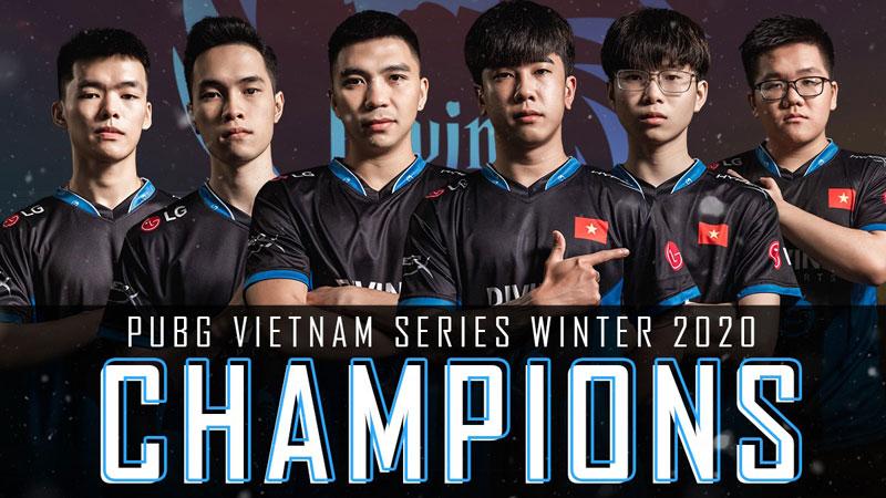 Đường dài mới biết ngựa hay, Divine Esports lần đầu đăng quang tại PUBG Vietnam Series Winter 2020