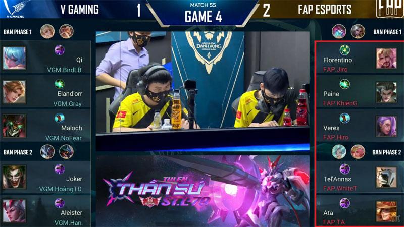 FAP Esports đúng chuẩn 'rạp xiếc': Chọn đội hình theo tên tướng để ghép thành FAP TV, để rồi thất bại trước VGM
