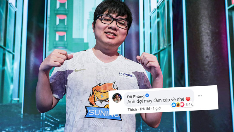 Cộng đồng Esports Việt Nam vỡ òa với chiến thắng của SofM, Độ Mixi nhắn nhủ: 'Anh chờ mày cầm cúp về nhé'