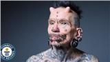 'Dị nhân' lập kỷ lục Guinness với 516 lần chỉnh sửa cơ thể, từ xăm hình, xỏ khuyên đến cấy ghép sừng