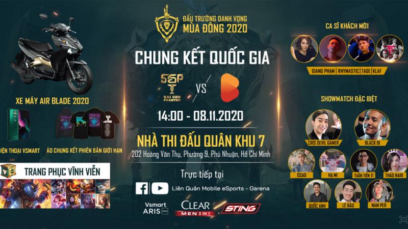Chung kết ĐTDV mùa Đông 2020 quy tụ dàn sao Rap Việt đình đám, bất ngờ nhất là giá vé rẻ đến ngỡ ngàng