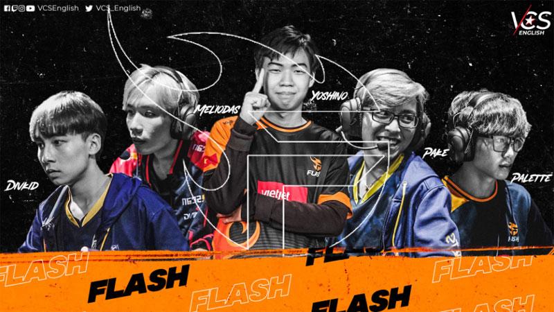 Đây sẽ là đội hình bảo vệ chức vô địch VCS cho Team Flash năm 2021?