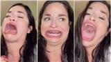 Khoe khuôn miệng rộng tới 8,89cm, cô gái 'kiếm tiền như nước'