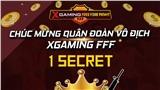 Chức vô địch Xgaming Free Fire Fight mùa 2 khắc tên Quân đoàn 1Secret