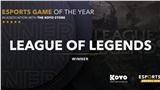 Esports Awards 2020: LMHT là tựa game Esports 'đỉnh' nhất 2020 nhưng Dota 2 là chủ nhân của những danh hiệu cao quý không kém