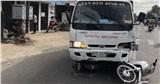 Tài xế xe tải ngủ gật tông nhiều xe máy, 5 học sinh và 1 người dân bị thương