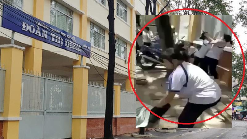 Vụ 2 nữ sinh Cần Thơ bị đánh đã được dàn dựng quay clip từ trước