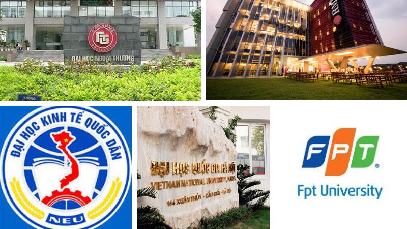 Cơ hội được xét tuyển vào nhiều trường Đại học top đầu khi có chứng chỉ ngoại ngữ quốc tế