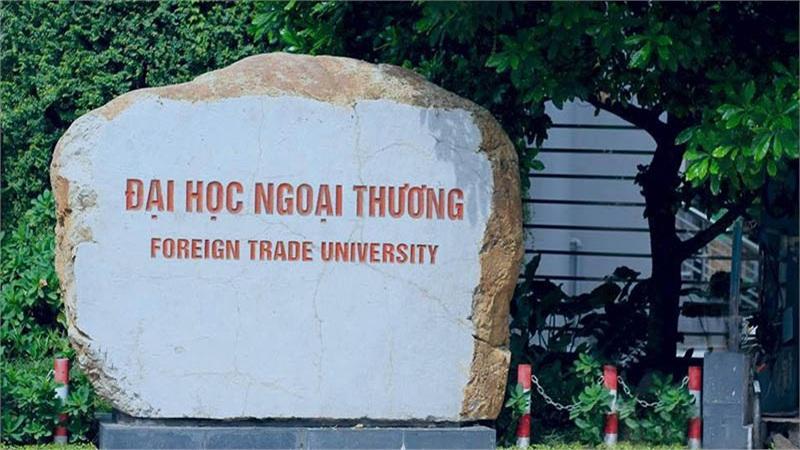 Đại học Ngoại thương công bố điểm trúng tuyển của thí sinh xét học bạ