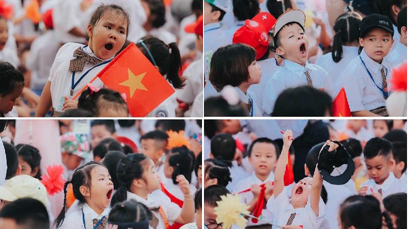 Loạt ảnh cũ về khoảnh khắc buồn ngủ của các cô cậu học sinh tiểu học ngày khai trường bất ngờ 'gây sốt'