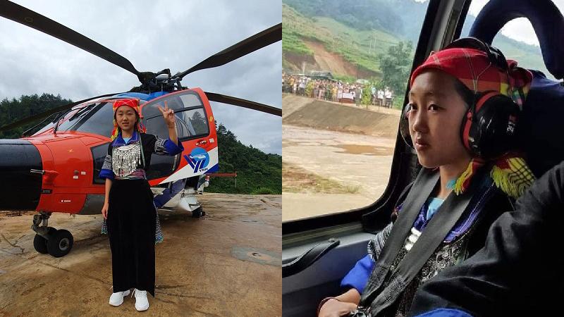 Tâm sự xúc động của thầy hiệu trưởng có nữ sinh H'Mông đầu tiên được ngắm mùa vàng bằng trực thăng