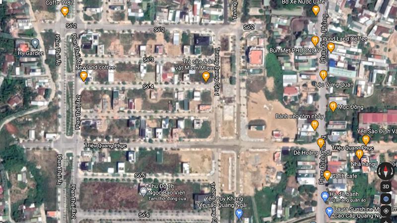 Nhói lòng hình ảnh lũ lụt các tỉnh miền Trung nhìn từ Google Maps