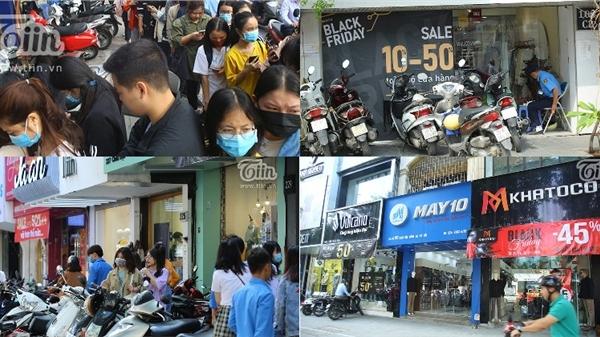 Black Friday ở Hà Nội: Nơi thì đông như quân nguyên, chỗ lại không một bóng khách