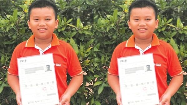 Cậu bé 10 tuổi An Giang đạt 7.0 IELTS khiến nhiều người kinh ngạc: 'Thần đồng tiếng Anh là đây chứ đâu'