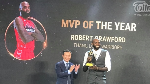 Cầu thủ xuất sắc nhất VBA 2020 gọi tên Robert Crawford