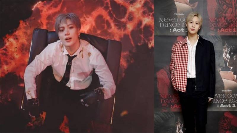Dù bị leak ra trước khi phát hành, Taemin vẫn hóa thân xuất sắc trong Criminal