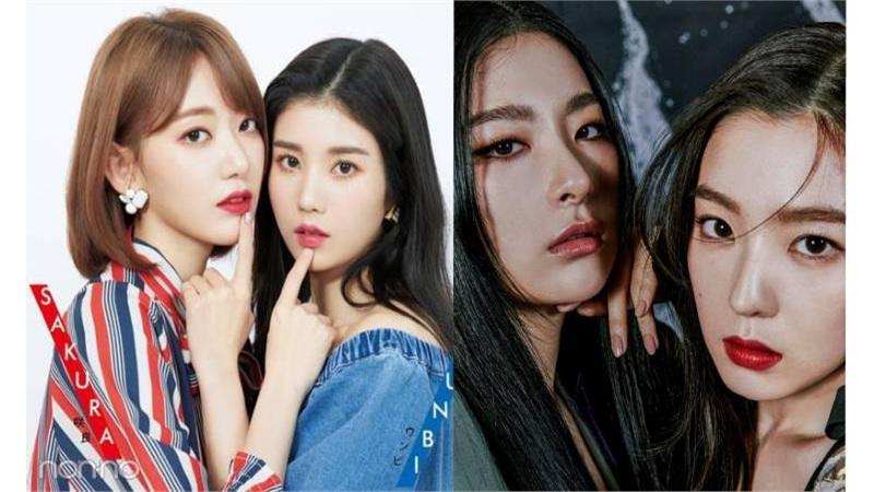 Sakura và Kwon Eunbi (IZ*ONE) cover bản hit MONSTER của Seulgi và Irene, fan bấn loạn vì quá ngầu