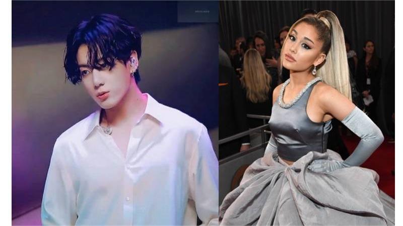 Jungkook (BTS) và Ariana Grande sắp tung sản phẩm hợp tác?