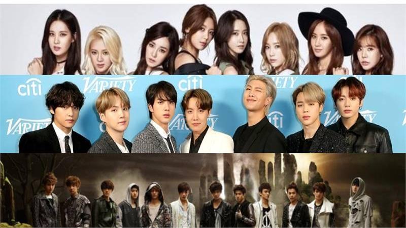 BTS, SNSD, EXO bị chính các thành viên ghẻ lạnh tên nhóm nhạc của mình