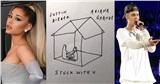 Chờ album hơn 6 tháng nhưng chữ kí trên CD Stuck With You của Ariana Grande và Justin Bieber lại là giả?