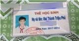 Nam sinh bỗng nổi như cồn vì có cái tên độc nhất vô nhị - Mai Thành Triệu Phú