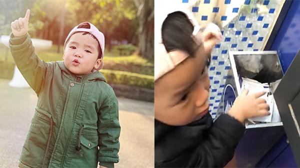 Gặp gỡ bé trai 3 tuổi nhặt rác ở cây ATM: Ở nhà chăm chỉ phụ mẹ nhiều việc, nhớ được quốc kỳ của 90 nước