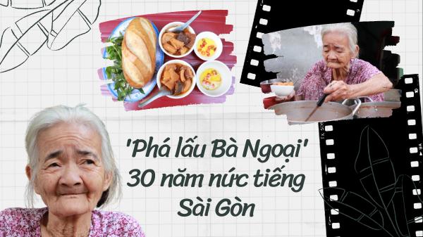 Chuyện mưu sinh của cụ bà 84 tuổi bán phá lấu ba thập kỷ ở Sài Gòn: 'Tết này không dám nghỉ ngày nào'