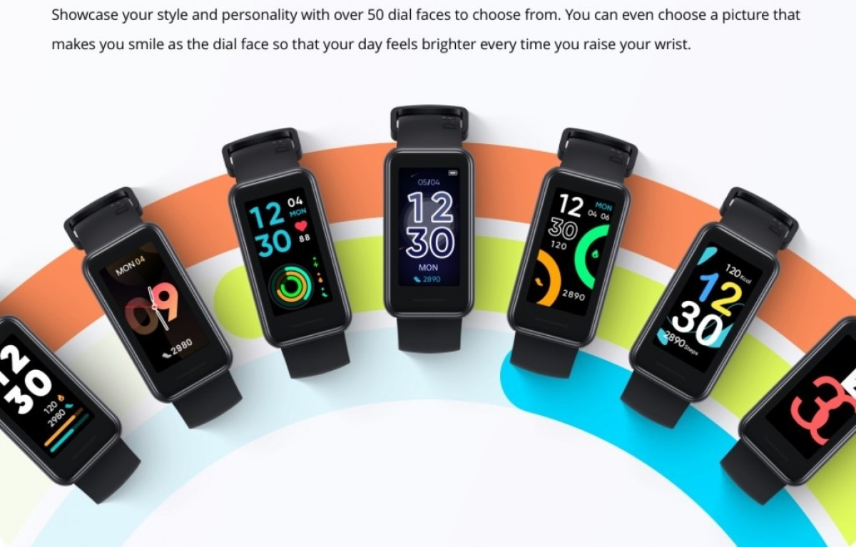 Realme ra mắt vòng đeo tay Realme Band 2
