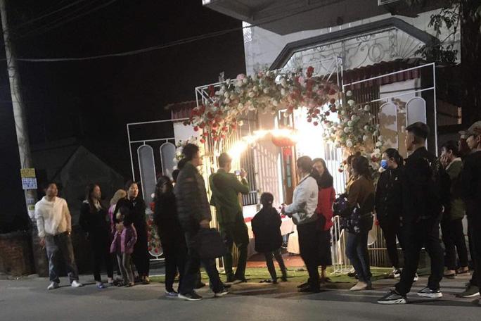 Lực lượng chức năng có mặt tại đám cưới xảy ra vụ tr.ộm