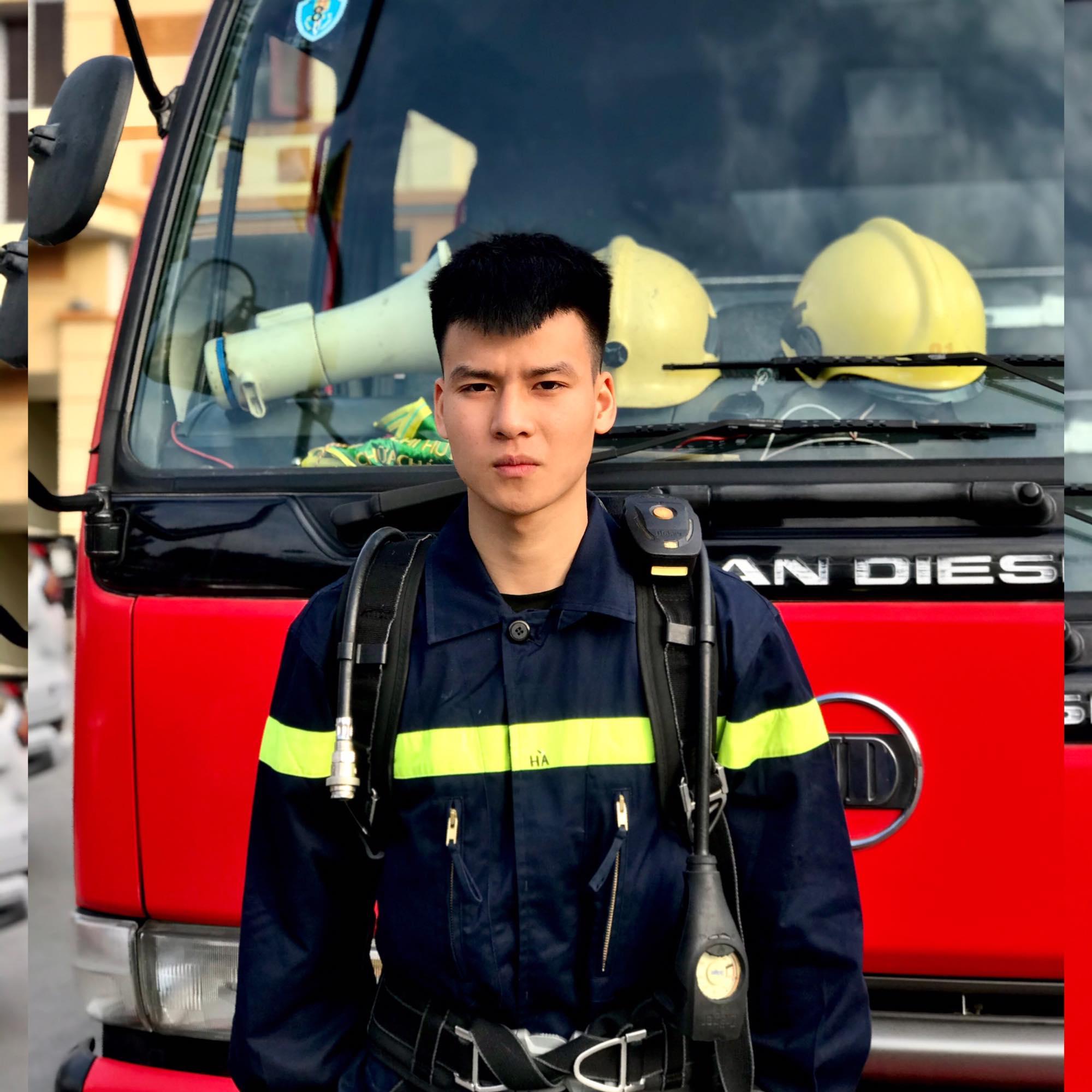 Người lính cứu hỏa cần có bản lĩnh và sự gan dạ.